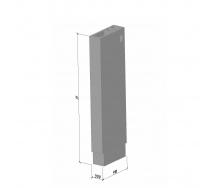 Вентиляційний блок ВБ 30-1 ТМ «Бетон від Ковальської» 910х300х2980 мм