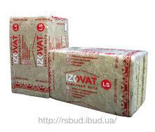 Теплоизоляция базальтовая плитная Izovat LS 100 мм