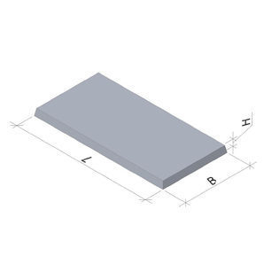 Тротуарная плита 6 П5 ТМ «Бетон от Ковальской» 1000х500х45 мм