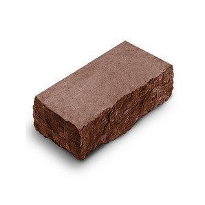 Фасадный камень угловой Авеню Декор Рустик 225х100х65 мм порфир