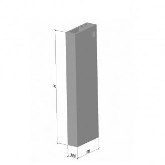 Вентиляційний блок ВБВ 28 910*300*2780 мм