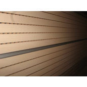 Перфорована шпонована панель з MDF Decor Acoustic 29/3 2400х576х17 мм клен