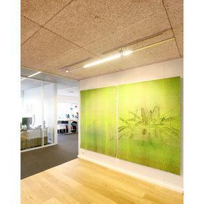 Панель из древесной шерсти Troldtekt Natural Wood K5 600х1200х25 мм