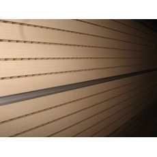 Перфорированная шпонированная панель из MDF Decor Acoustic 29/3 2400х576х17 мм клен