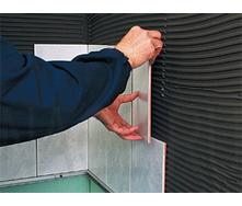 Облицовка гипсокартонных стен керамической плиткой