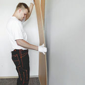 Установка стінових панелей Isotex Timber