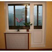 Балконний блок з профілю VIKNAROFF Fenster 400 700x2000 мм