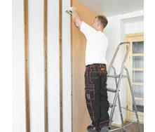 Устройство интерьерного стенового покрытия Isotex Timber