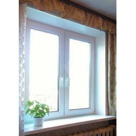 Окно кухонное из профиля VIKNAROFF Fenster 400 1300х1400 мм