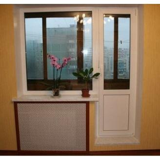 Балконный блок из профиля VIKNAROFF Fenster 400 700x2000 мм