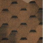 Битумная черепица TILERCAT Прима 1000*317 мм коричневая