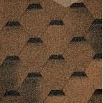 Битумная черепица TILERCAT Прима 1000х317 мм коричневая