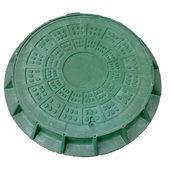 Люк легкий полімерпіщаний (А15) 1 т із замком