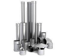 Труба для димоходу з нержавіючої сталі 304 1 м 160х0,8 мм