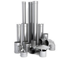 Труба для дымохода из нержавеющей стали 304 1 м 160х0,8 мм