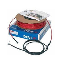 Нагревательный кабель двухжильный DEVI DEVIflex ™ 18T 210/230 Вт