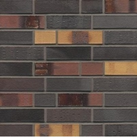Клінкерна плитка Muhr Klinker LI-NF 40 Kobalt spezial geflammt 240х14х71 мм