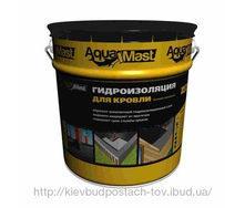 Мастика для кровли битумно-резиновая AquaMast 18 кг