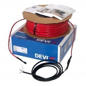 Нагрівальний кабель двожильний зниженої потужності DEVI DEVIflex ™ 10T 906/990 Вт