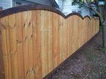 Заборы для дачи деревянные