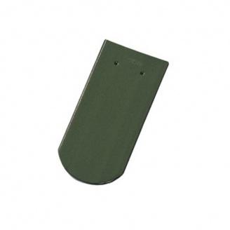 Керамическая черепица Tondach Бобровка ОК Словения 400х190 мм зеленая F420y