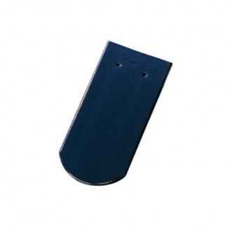 Керамическая черепица Tondach Бобровка ОК Словения 400х190 мм темно-синяя