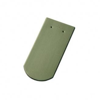 Керамическая черепица Tondach Бобровка ОК Словения 400х190 мм светло-зеленая
