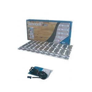 Монтажна пластина з теплоізолятором DEVI DEVIcell Dry 50 м2