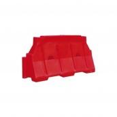 Блок дорожный Импекс-Груп водоналивной 480х800х1500 мм красный