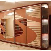 Корпусный шкаф в спальню четырехдверный на заказ