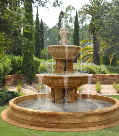 Садовий фонтан своїми руками