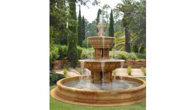 Садовый фонтан своими руками
