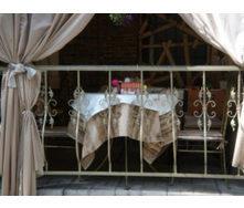 Металлическое ограждение для балконов