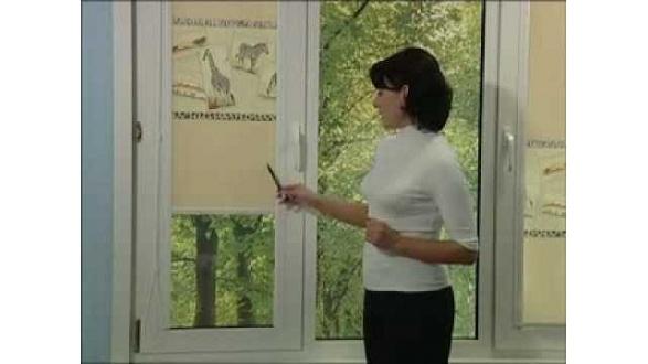 Презентация тканевых ролет