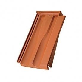 Черепица керамическая боковая правая Tondach Границе-11 Чехия 277х465 мм натур