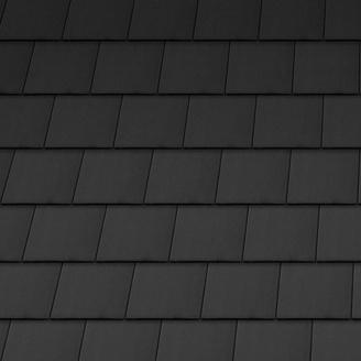 Черепица керамическая вентиляционная боковая правая Tondach Венская ПК Словения 190х400 мм черная