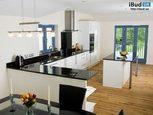Інтер'єр просторої кухні
