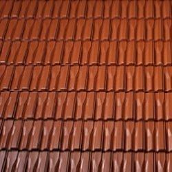 Керамічна черепиця бічна половинчаста Танго плюс Угорщина 170х500 мм коричнева
