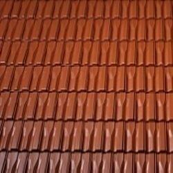Керамическая черепица боковая левая Tondach Танго плюс Венгрия 300х500 мм коричневая