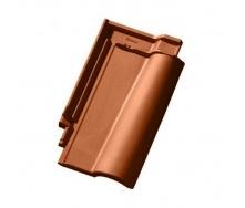 Керамическая черепица Tondach Кармен Австрия 455х270 мм медно-коричневая
