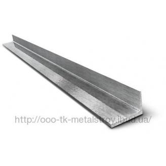 Уголок оцинкованный 100х50х2 мм