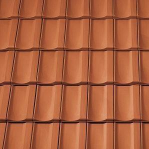 Керамическая вентиляционная черепица Tondach Болеро Венгрия 300х500 мм коричневая