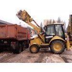 Прибирання снігу навантажувачами
