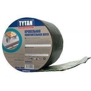 Кровельная герметизирующая лента TYTAN PROFESSIONAL 15 см 10 м зеленая