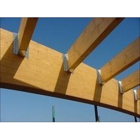 Монтаж деревянной балки