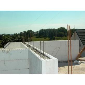 Создание монолитной стены из армированого бетона