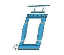 Оклад Roto EDR SNO для плоских покрівельних покриттів 54х118 см