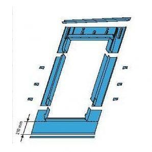 Оклад Roto EDR SDS для плоских покрытий 114х140 см