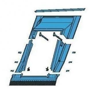 Оклад Roto EAK для збільшення кута нахилу покрівлі 74х98 см