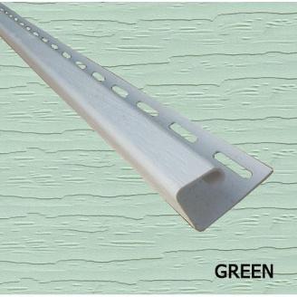Планка боковая J 1/2 Royal Europa green 3810 мм